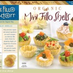 a package of fillo pastry cups made by the Fillo Factory
