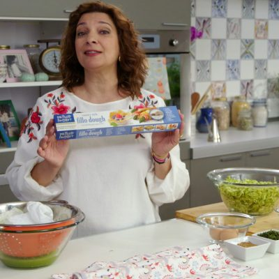 Diane Kochilas used Fillo Factory Dough to make her recipe