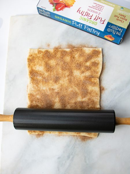 Roll the sheet with a rolling pin