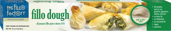 our most popular phyllo dough - #4 all purpose