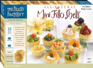 Fillo Factory Fillo Cups