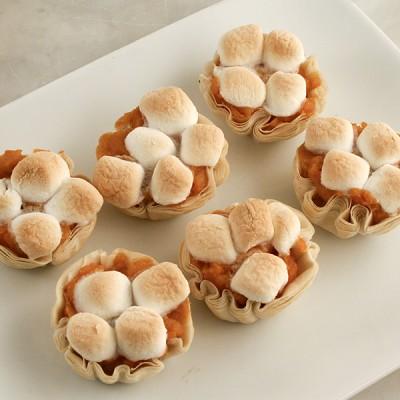 Tiny Sweet Potato Pie Bites