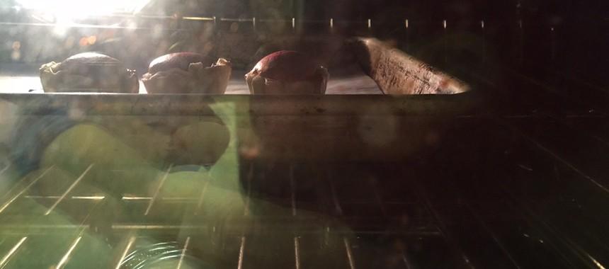 Red Velvet Fillo Cupcakes
