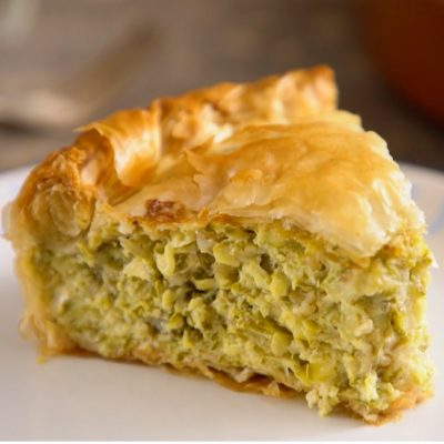 Zucchini Fillo Pie by Diane Kochilas