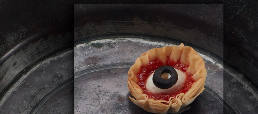 Evil Eye Halloween Appetizers
