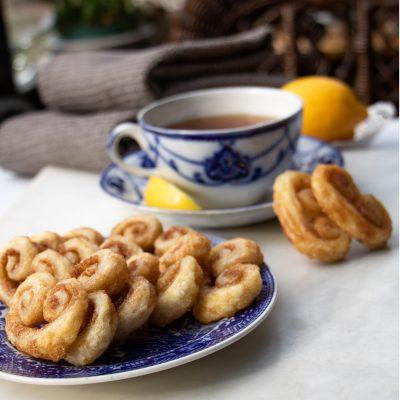Sugary Cinnamon Palmiers