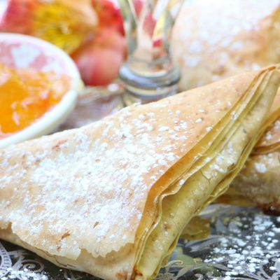 Apricot Cheese Turnovers