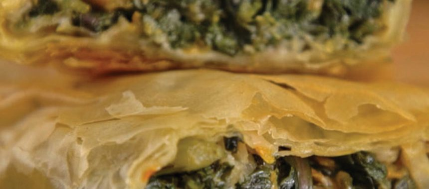 Longevity Pie by Diane Kochilas